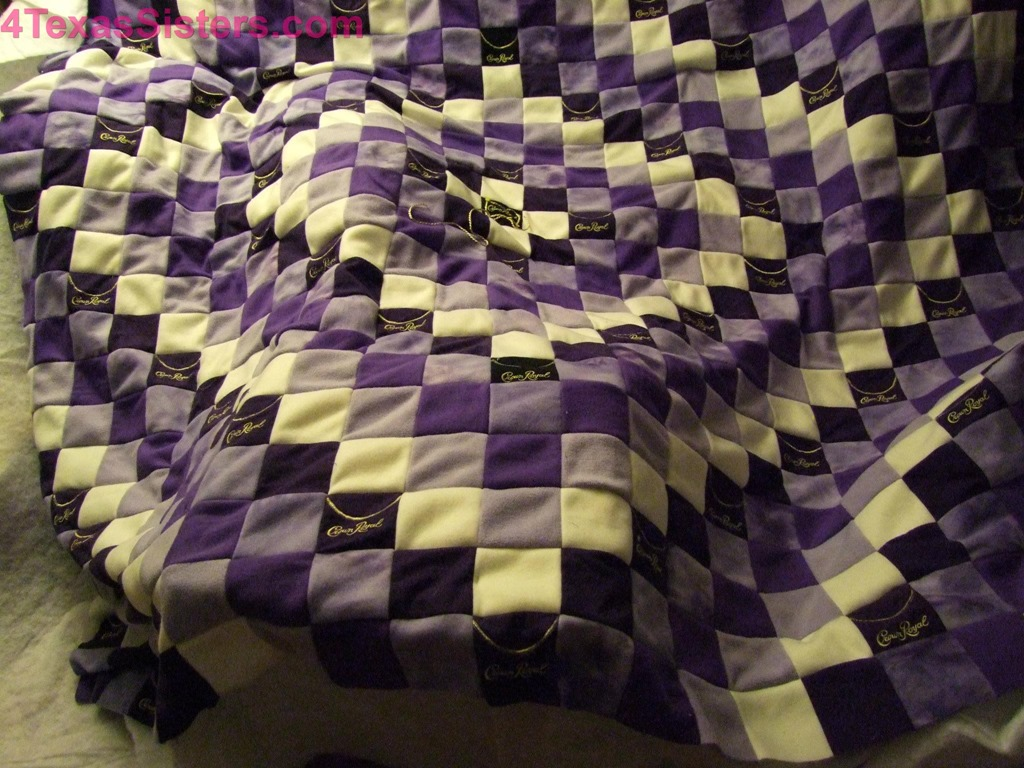 Crown Royal Quilt 4 Texas Sisters